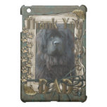 Thank You - Stone Paws - Newfoundland - Dad Cover For The iPad Mini