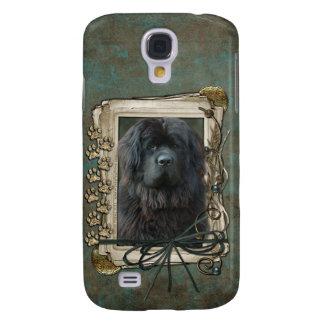 Thank You - Stone Paws - Newfoundland Galaxy S4 Cover