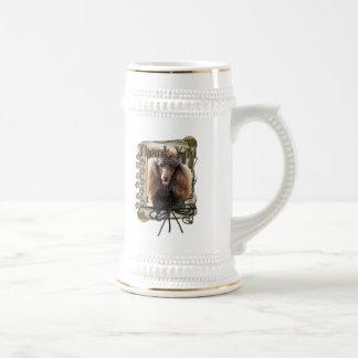 Thank You - Stone Paws - Poodle - Chocolate Mugs