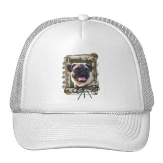 Thank You - Stone Paws - Pug Hat