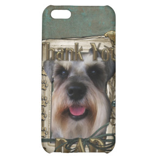Thank you - Stone Paws - Schnauzer - Dad iPhone 5C Case