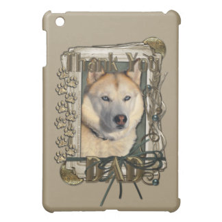 Thank You - Stone Paws - Siberian Husky Copper Dad iPad Mini Case