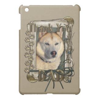 Thank You - Stone Paws - Siberian Husky Copper Dad iPad Mini Case