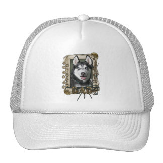 Thank You - Stone Paws - Siberian Husky - Dad Hat