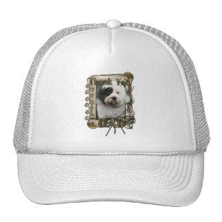 Thank You - Stone Paws - Tibetan Terrier - Dad Trucker Hats
