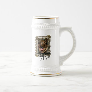 Thank You - Stone Paws - Vallhund Coffee Mugs
