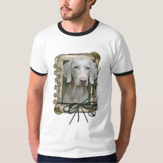 Thank You - Stone Paws - Weimeraner T-Shirt