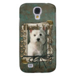 Thank You - Stone Paws - West Highland Terrier Samsung Galaxy S4 Cases