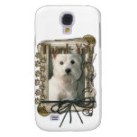 Thank You - Stone Paws - West Highland Terrier Samsung Galaxy S4 Cover