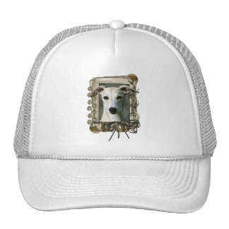 Thank You - Stone Paws - Whippet - Dad Mesh Hat