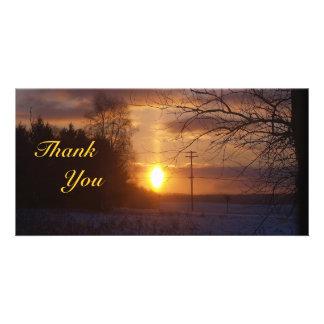 Thank You Sunrise Photocard Photo Card