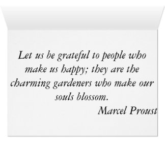 Thank you - Sunset Marcel Proust Card