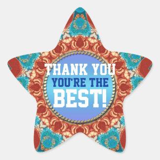 Thank You Sunshine Mandala Custom Sticker