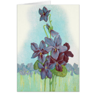 Thank You: Sweet Violets Card