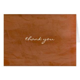 Thank You Tangerine Card