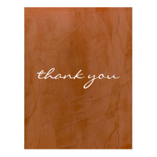 Thank You Tangerine Postcard