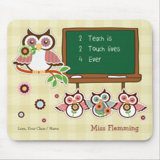 Thank You, Teacher. Customizable Gift Mousepads