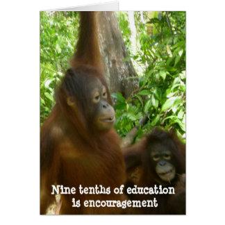 Thank You, Teacher:  Encouragement Card