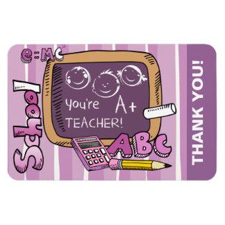 Thank You Teacher. Gift Magnets