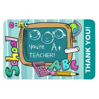 Thank You, Teacher. Gift Magnets