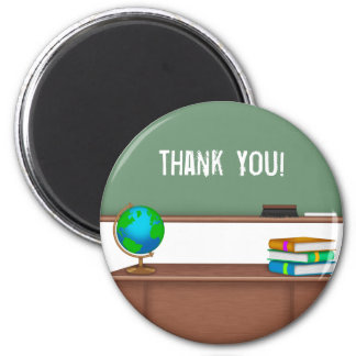Thank You Teacher Gifts 2 Inch Round Magnet