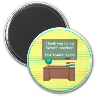 Thank You Teacher Gifts Magnet