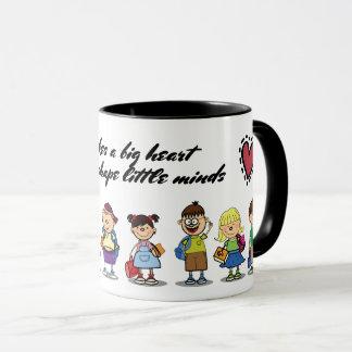 Thank You, Teacher. School kids & Quote Gift Mugs