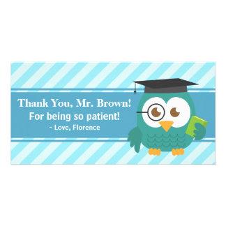 Thank You Teacher, Teacher Owl, Patience Card