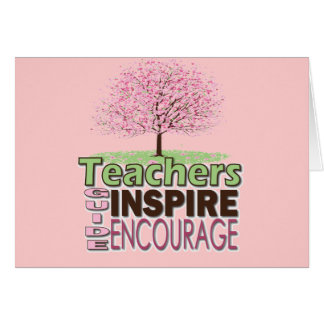 Thank You Teachers Greeting Cards