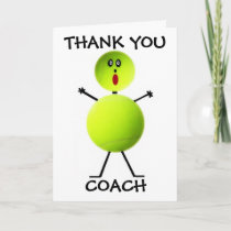 Thank You Tennis Coach