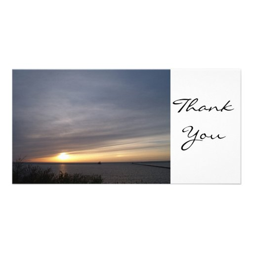 Thank You, TEYoung Personalized Photo Card