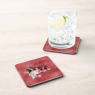 Thank You - Thank You Very Much - Chihuahua -Gizmo Drink Coaster