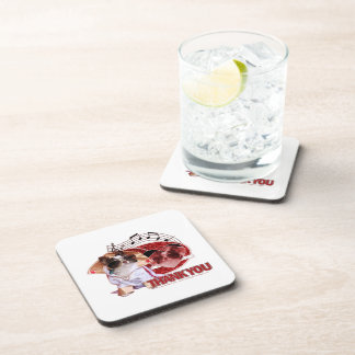 Thank You - Thank You Very Much - Chihuahua -Gizmo Beverage Coasters