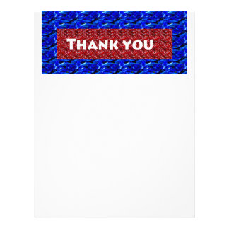 Thank you ThankYou on giveaway gifts Letterhead