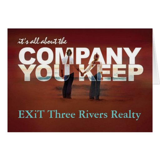 Thank You - Three Rivers Realty Corp Stationery Note Card