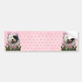 Thank You - Tibetan Terrier Bumper Stickers
