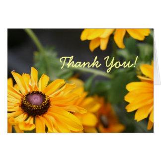 Thank You Tiger Eye Greeting Card