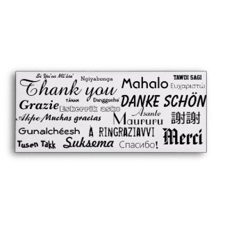 Thank you / Tip Envelope with To / From on flap