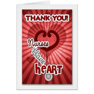 Thank You to a Special Nurse Card