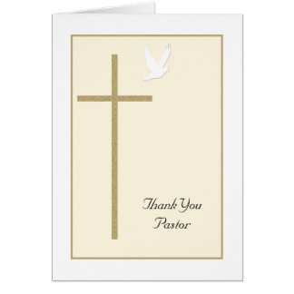 Thank You to Pastor Card