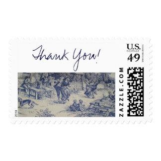 THANK YOU! TOILE POSTAGE STAMPS