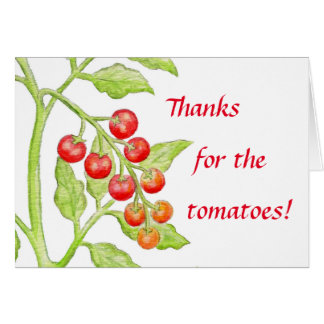 Thank You Tomato card