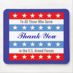Thank You Troops Mouse Pad