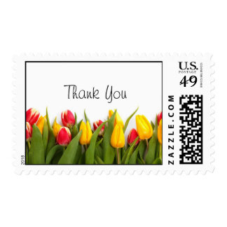 Thank You Tulips Floral Postage