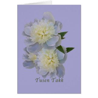 Thank You, Tusen Takk, Norwegian Card