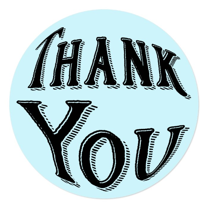 Thank You Typography Card Zazzle