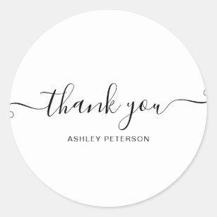Thank You Stickers 100 Satisfaction Guaranteed Zazzle