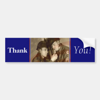 Thank You! - Veteran Bumper Sticker