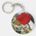 Thank You Veteran Keychain