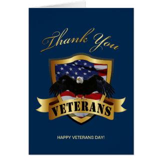 Thank You Veterans Card
